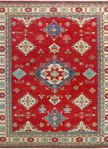 Red Kazak 8' 8 x 12' 4 - No. 27145
