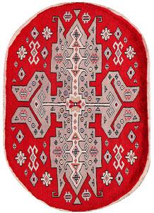 Red Caucasian 2' 2 x 3' 1 - No. 27365