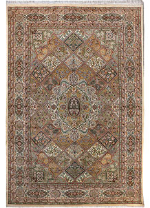 Multi Colored Bakhtiar 6' 9 x 10' 2 - No. 29068