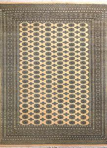 Navajo White Bokhara 8' 11 x 11' 11 - No. 29205