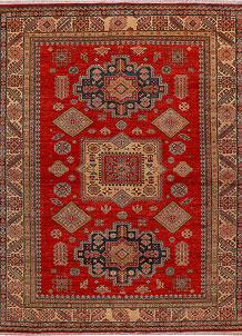 Firebrick Kazak 6' 6 x 8' 1 - No. 30499