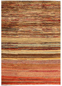 Multi Colored Gabbeh 4' 7 x 6' 4 - No. 33921