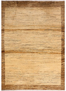 Blanched Almond Gabbeh 4' 11 x 6' 7 - No. 33923