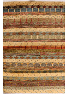Multi Colored Gabbeh 4' 2 x 6' 1 - No. 33932
