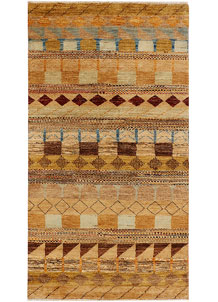 Multi Colored Gabbeh 3' 1 x 5' 3 - No. 34006