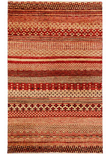 Multi Colored Gabbeh 3' 1 x 4' 11 - No. 34010