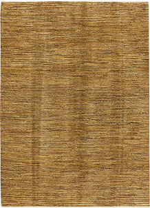 Dark Goldenrod Gabbeh 4' 11 x 6' 11 - No. 34191