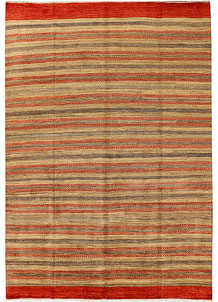 Multi Colored Gabbeh 6' 5 x 9' 6 - No. 34247
