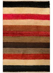 Multi Colored Gabbeh 2' x 3' - No. 34287