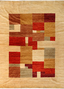 Multi Colored Gabbeh 8' 3 x 10' 1 - No. 34387