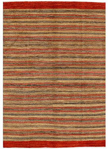 Multi Colored Gabbeh 5' 7 x 8' 1 - No. 34426