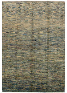 Multi Colored Gabbeh 5' 7 x 8' - No. 34429