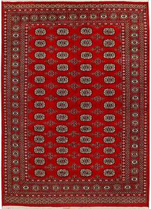 Firebrick Bokhara 5' 5 x 7' 7 - No. 35430