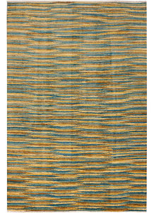 Multi Colored Gabbeh 5' 5 x 8' - No. 36483