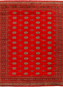 Red Bokhara 7' 11 x 10' - No. 37049