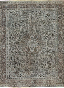 Dark Grey Vintage 9' 7 x 12' 9 - No. 37505