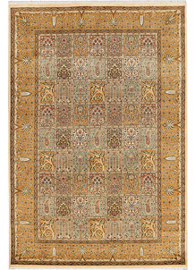 Multi Colored Bakhtiar 6' 2 x 9' 2 - No. 37702