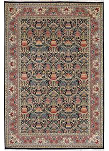Multi Colored Sultanabad 6' x 8' 10 - No. 37703