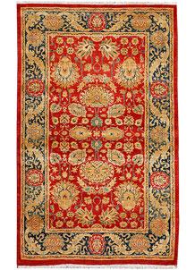 Red Sultanabad 3' 2 x 5' - No. 37726
