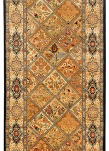 Multi Colored Bakhtiar 2' 7 x 7' 8 - No. 37754