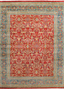 Red Mahal 8' x 9' 11 - No. 37760