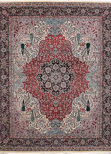Firebrick Isfahan 8' 2 x 10' - No. 37769