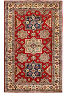 Firebrick Kazak 5' 6 x 8' 4 - No. 37953