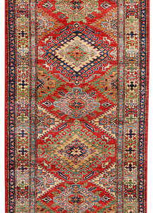 Red Kazak 2' 10 x 7' 8 - No. 37977