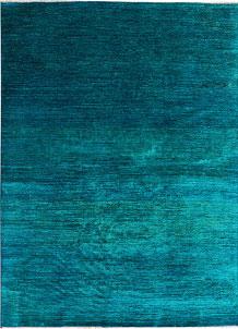 Dark Turquoise Gabbeh 5' 9 x 8' 1 - No. 41116