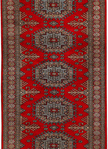 Dark Red Caucasian 3' x 6' 3 - No. 41414