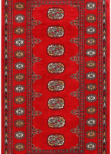 Red Bokhara 3' 2 x 6' 2 - No. 41497