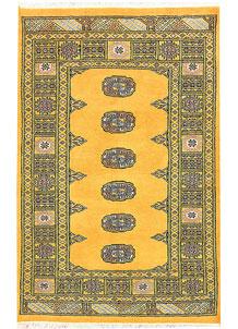 Gold Bokhara 3' 1 x 4' 9 - No. 44061