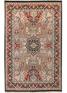Multi Colored Bakhtiar 4' 6 x 7' 1 - No. 44741