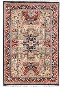 Multi Colored Bakhtiar 4' 8 x 6' 11 - No. 44743