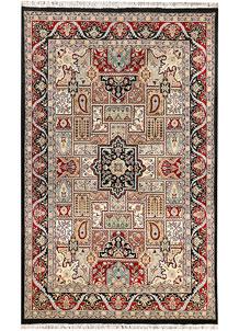 Multi Colored Bakhtiar 4' 6 x 7' 1 - No. 44754