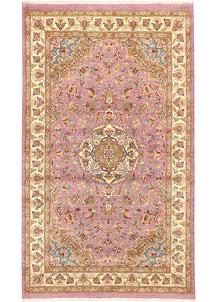 Thistle Kashan 3' 2 x 5' 4 - No. 44773