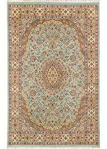 Cadet Blue Isfahan 5' x 8' - No. 44793