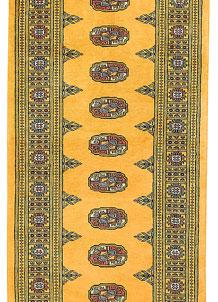 Gold Bokhara 2' 8 x 7' 11 - No. 45150