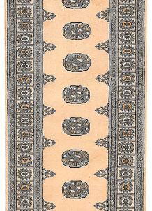 Antique White Bokhara 2' 6 x 10' 2 - No. 45459