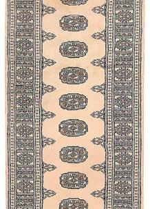 Ivory Bokhara 2' 6 x 9' 6 - No. 45562
