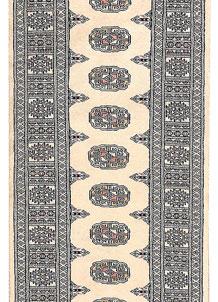 Ivory Bokhara 2' 6 x 9' 7 - No. 45569