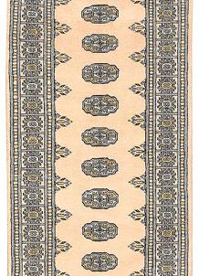 Antique White Bokhara 2' 7 x 11' 7 - No. 45615