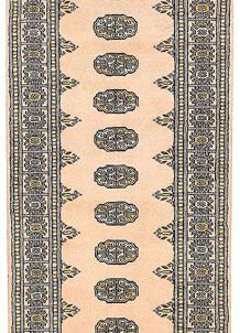 Antique White Bokhara 2' 7 x 12' 1 - No. 45624
