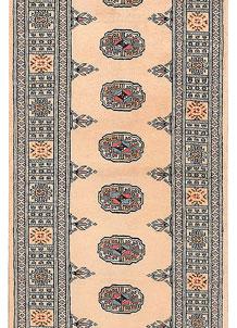 Antique White Bokhara 2' 6 x 12' 3 - No. 45680
