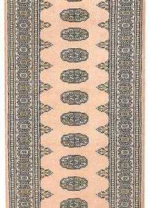 Antique White Bokhara 2' 8 x 11' 7 - No. 45682