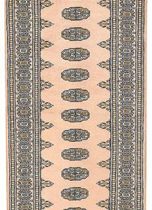 Antique White Bokhara 2' 8 x 12' 3 - No. 45686