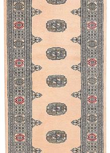 Antique White Bokhara 2' 7 x 10' 9 - No. 45692