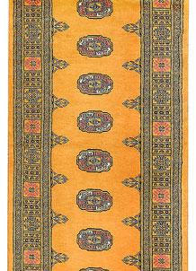 Gold Bokhara 2' 7 x 12' 8 - No. 45707