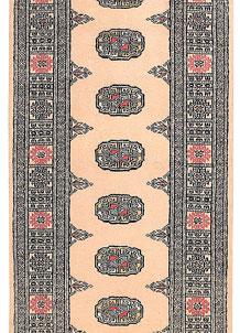 Antique White Bokhara 2' 7 x 11' 5 - No. 45714