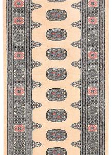 Antique White Bokhara 2' 7 x 11' 7 - No. 45726